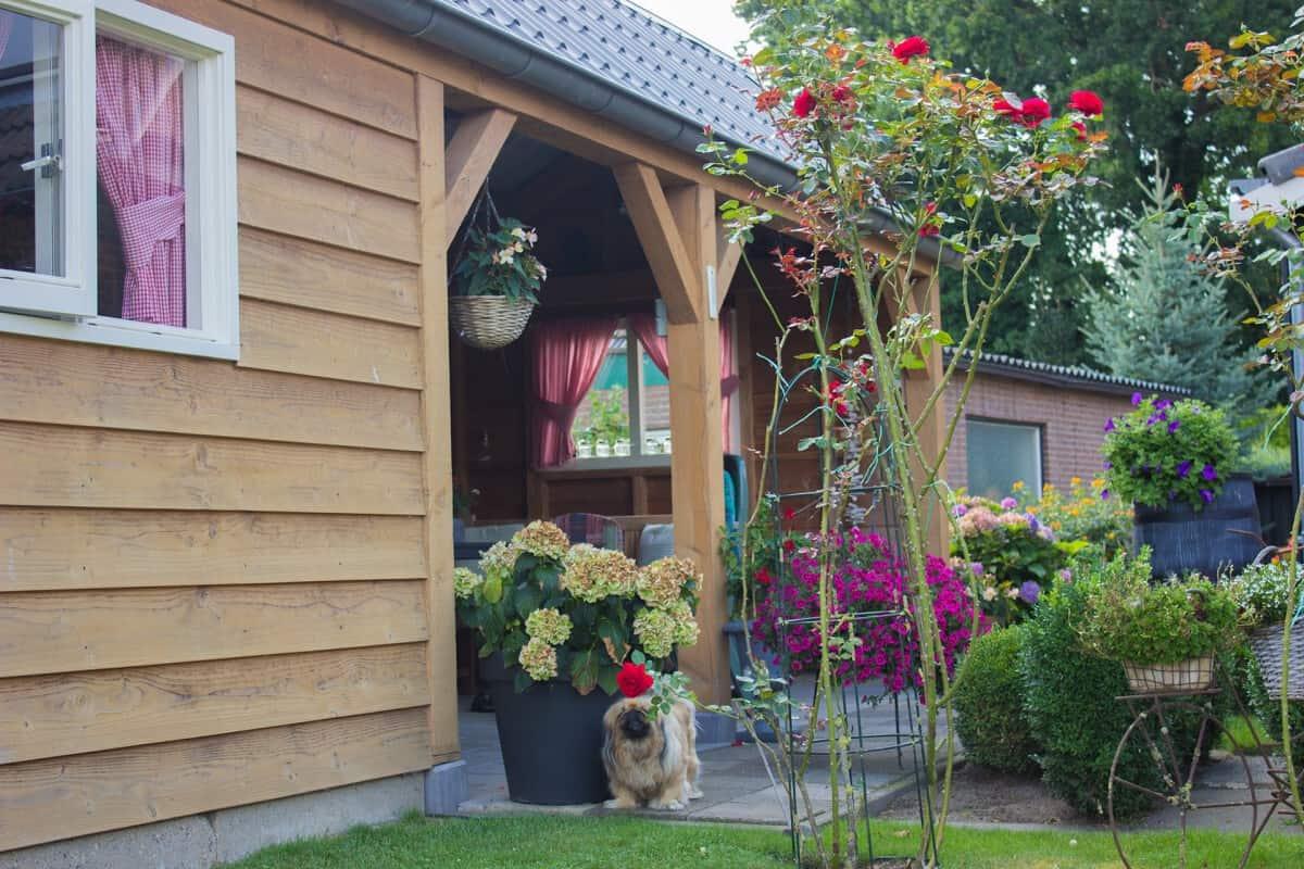 Prieeltje of overkapping op maat laten maken in uw achtertuin?