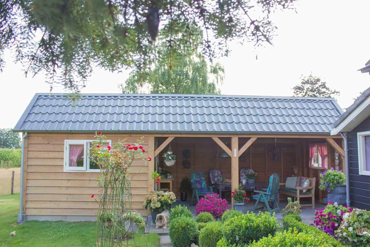 Tuinhuis of veranda laten maken op maat